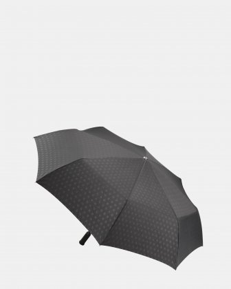 GRAND TURISMO - Umbrella with Comfortable automatic one-touch open & close mechanism - Black Bugatti