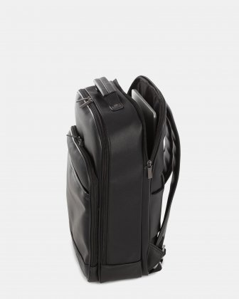 Gin & Twill - Backpack with Multi-use built-in organizer pockets - Black Bugatti