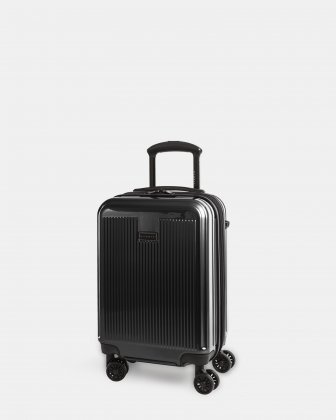 SINGAPORE - ABS & polycarbonate Hardside Carry-on  - Black  Bugatti