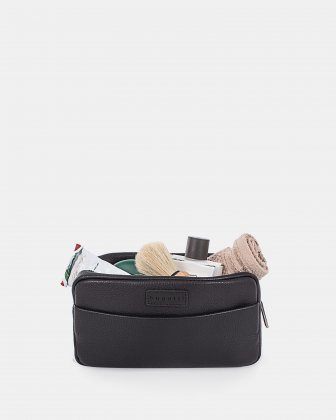 HORIZON - TOILETRY BAG with Main zippered compartment - Black Bugatti