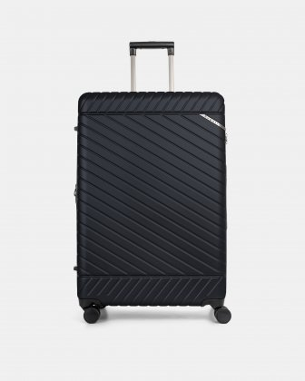 """MOSCOW -  30"""" HARDSIDE CARRY-ON 100% POLYCARBONATE WITH TSA LOCK - NAVY - Bugatti"""