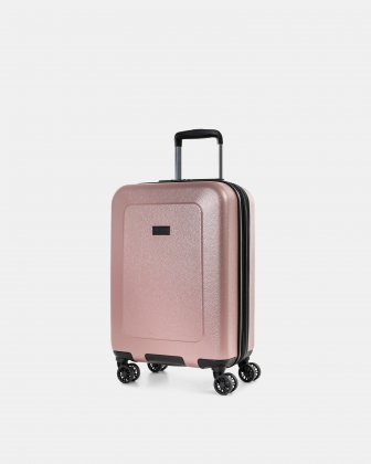 "MILANO - 21.5"" LIGHTWEIGHT CARRY-ON HARDSIDE WITH TSA LOCK - ROSEGOLD Bugatti"