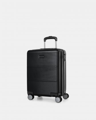 "BRUSSELS - 21.5"" HARDSIDE CARRY-ON WITH TSA LOCK - BLACK Bugatti"