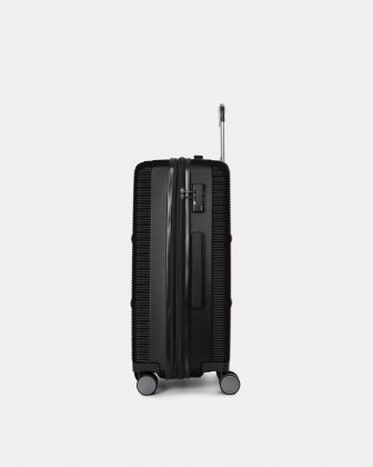"BRUSSELS - 25"" lightweight HARDSIDE WITH TSA LOCK - BLACK - Bugatti"