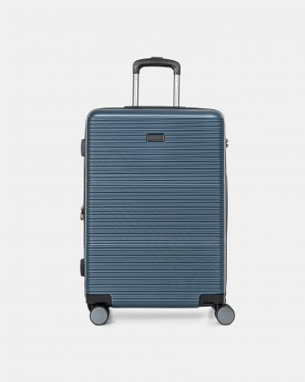 "BRUSSELS - 25"" lightweight HARDSIDE WITH TSA LOCK - STEEL BLUE - Bugatti"