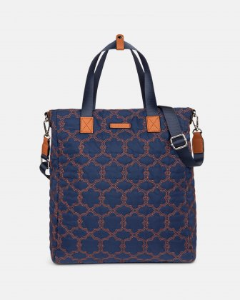 Montmartre - Backpack with Top main zippered opening - NAVY - Bugatti